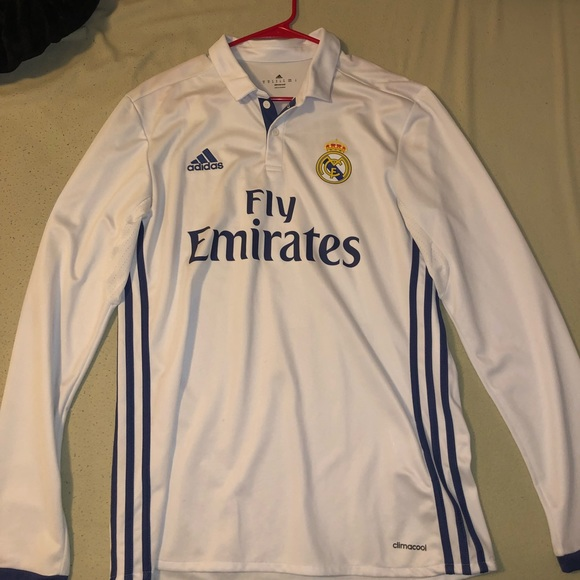 9e8d0a2f9 Adidas Climacool Real Madrid Jersey. Gareth Bale